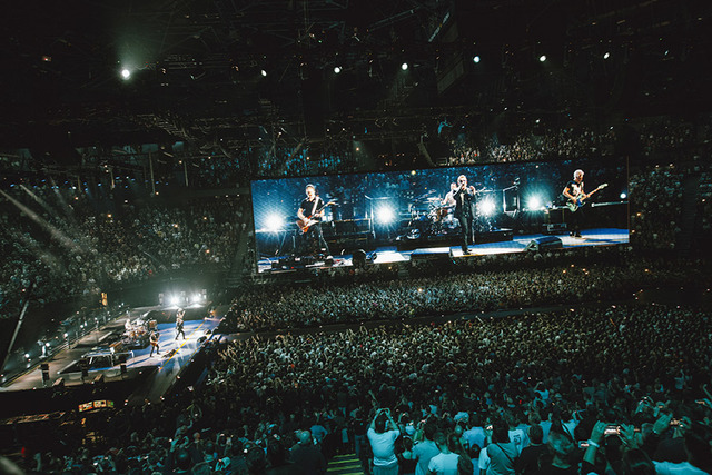 U2 Tours Innocence Experience Tour 2015